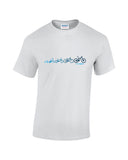 Grey evolution Cycling T Shirt