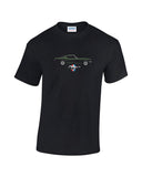 Classic Mustang T-Shirt in two styles (Bullitt & Race) at low prices and a range of sizes. Great quality t shirts at unbeatable prices.