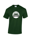 Personalised Mk1 Mini & Mini Cooper T Shirts. Your colour and number plate on a t shirt for a perfect classic mini gift. Unique personalised t shirts from Rinsed t Shirts.