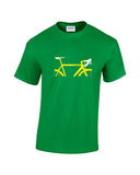 Personalised Road Bike t shirt