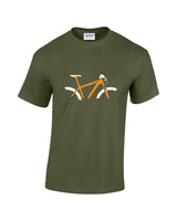 Personalised Mountain Bike t shirt