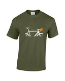 Personalised Road Bike t shirts