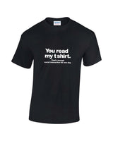 Read My T-Shirt