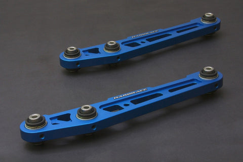 Hardrace Rear Lower Control Arms Blue (Pillow Ball) 92-95 Civic / 94-01 Integra