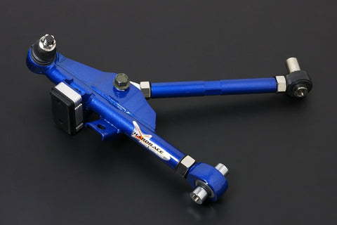 240SX S14/S15 FRONT ADJUSTABLE LOWER CONTROL ARM INCLUDED TENSION ROD - ONE PIECE DESIGN (PILLOW BALL) 4PCS/SET