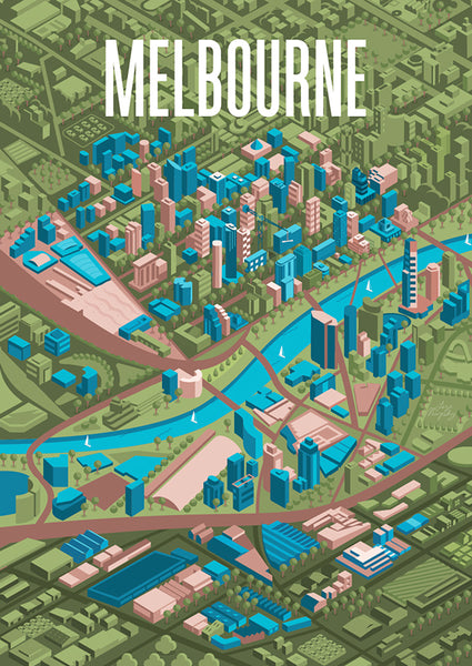 Melbourne Isometric