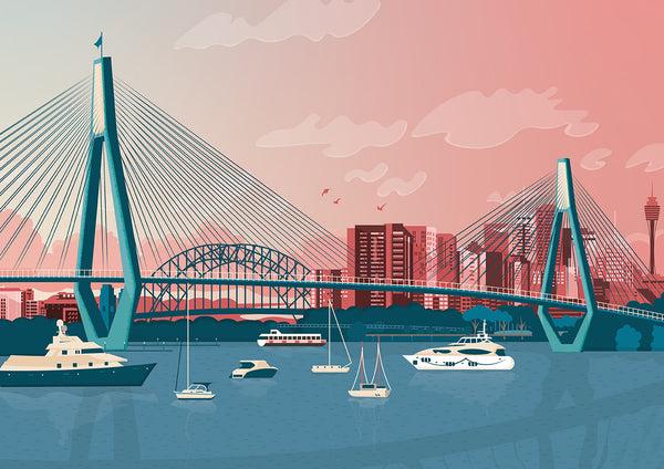 Anzac Bridge 2020