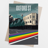 Oxford St Rainbow Crossing