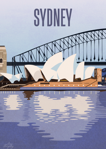 Sydney Harbour Bridge Opera House