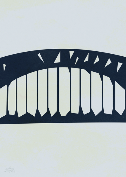 Abstract Harbour Bridge