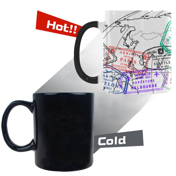 Color Changing Morphing Mug