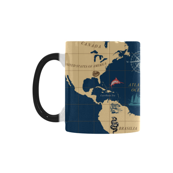 Nautical Color Changing Morphing Mug