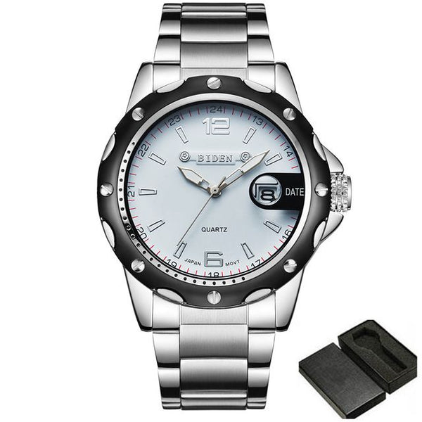 Luxury Quartz Waterproof Dress Watch