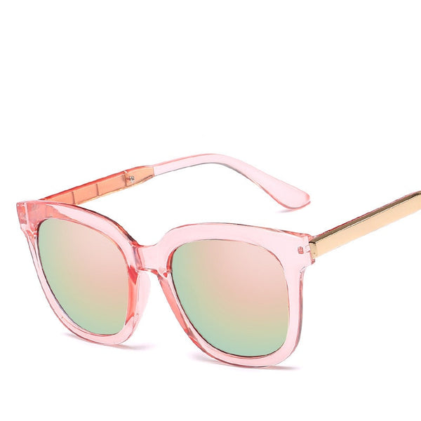 2019 New Square Sunglasses Women Brand Design Coating Mirror Lady Sunglass Female Sun Glasses For Women Eyewear oculos de sol