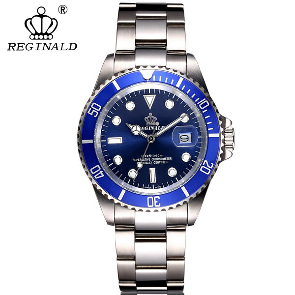 Watch for Men Fashion Sport Quartz Clock Mens Watches Top Brand Luxury Full Steel Waterproof Watch Rolexable Relogio Masculino