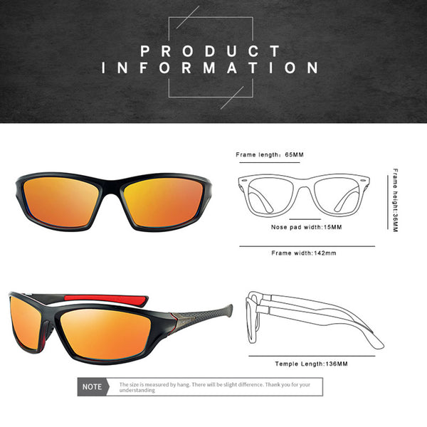 2019 NEW Sunglasses Classic High Quality PC Frame TAC Lens Polarized UV400 Outdoor Sports Sun Glasses For Men Women S012