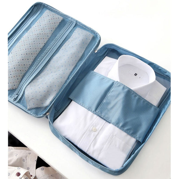 Fashion Multifunctional Travel Waterproof Storage Organizer Bags Portable Type Shirt Tie Finishing Package Clothes Case