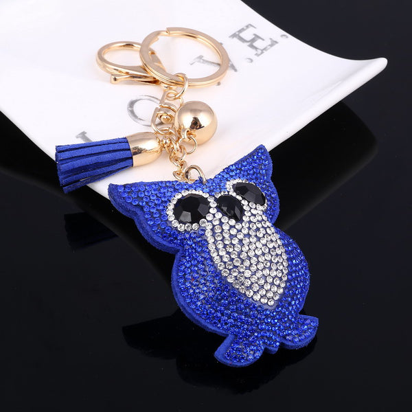Cute Owl Keychain Car Key For Women Jewelry Gifts