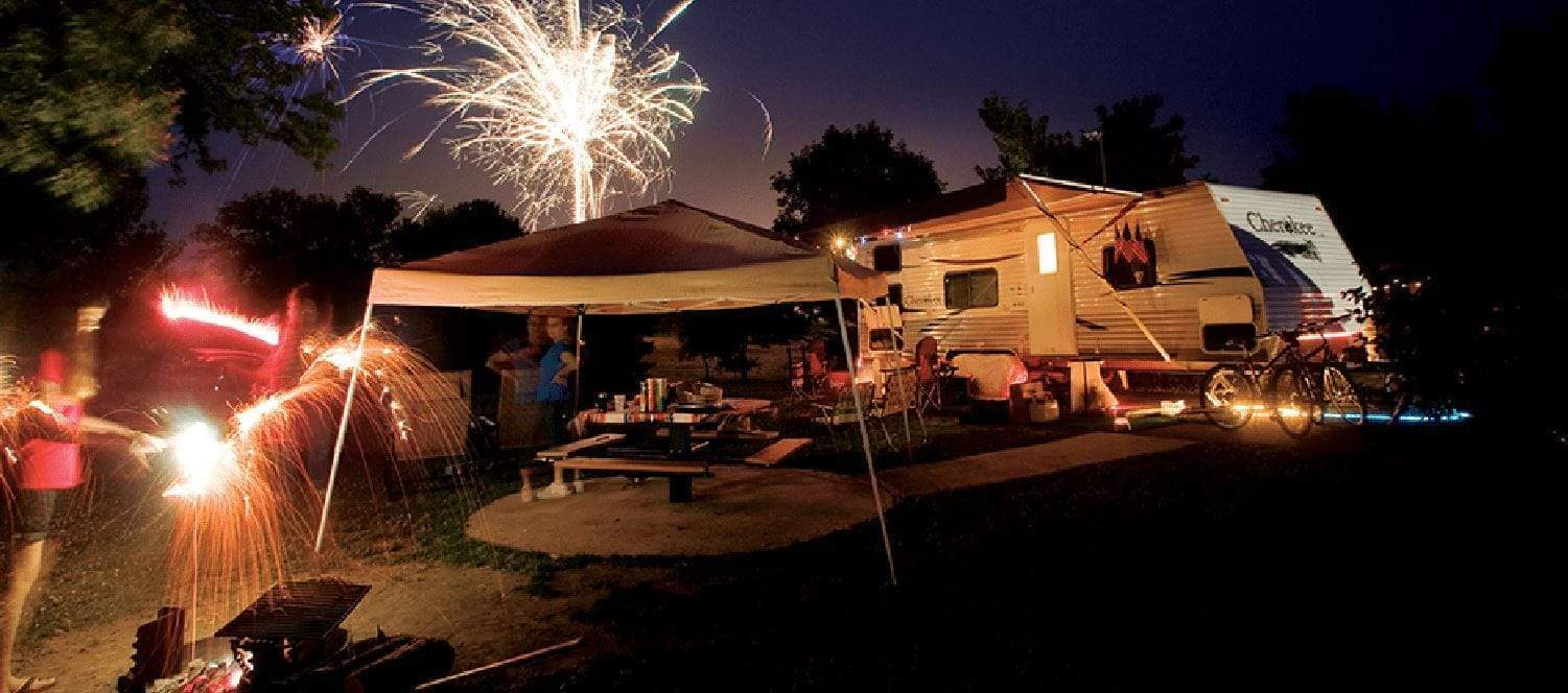 Add Excitement to Camping with Fireworks and more!