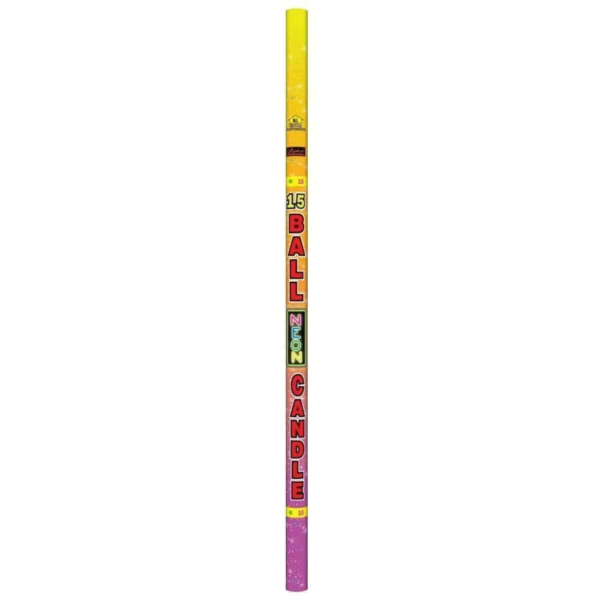 Mystical Fireworks Roman Candles 15 Ball Roman Candle