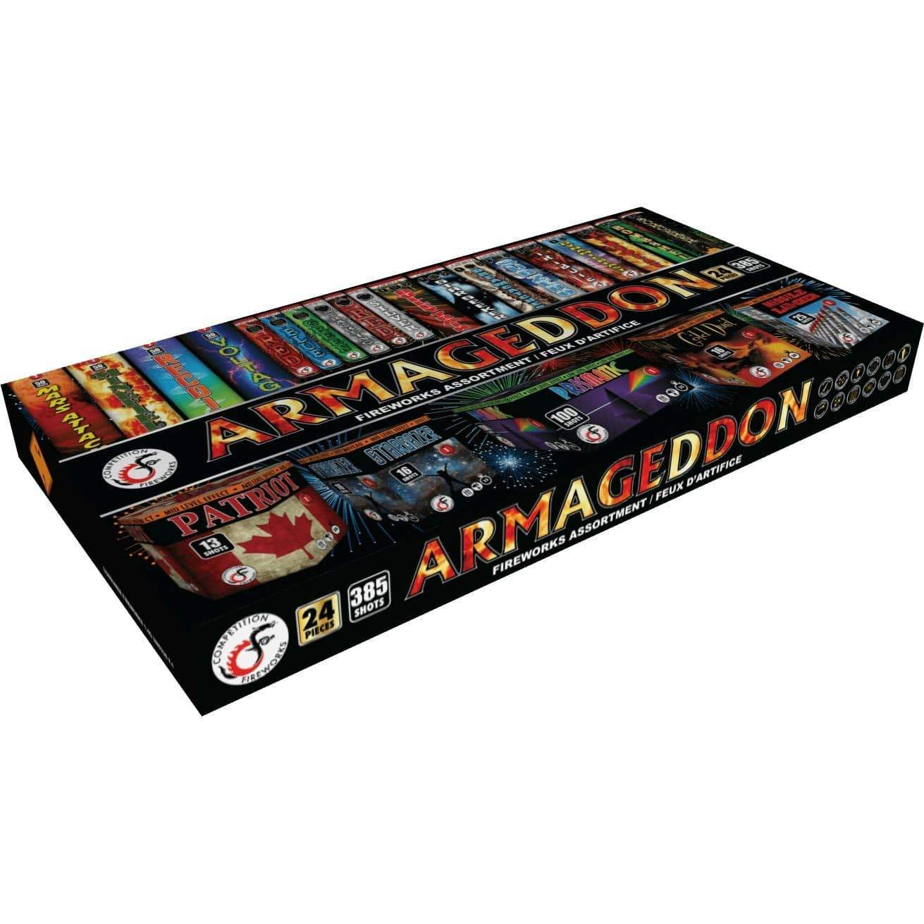Competition Fireworks Family Pack Assortment Armageddon