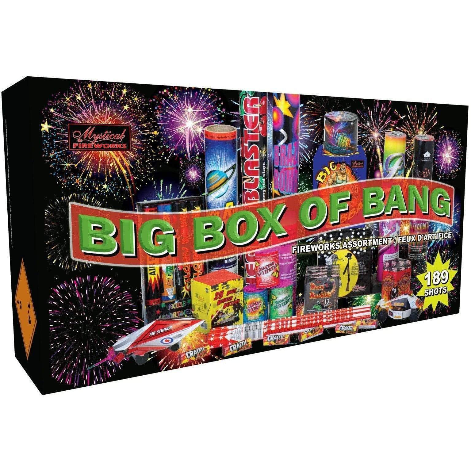 Mystical Fireworks Family Pack Assortment Big Box Of Bang