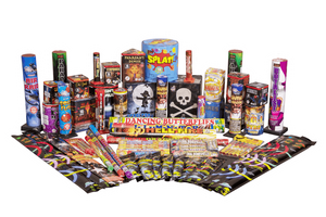 Fireworks Central Assortments Family (1-5 People) Birthday Party Family Pack