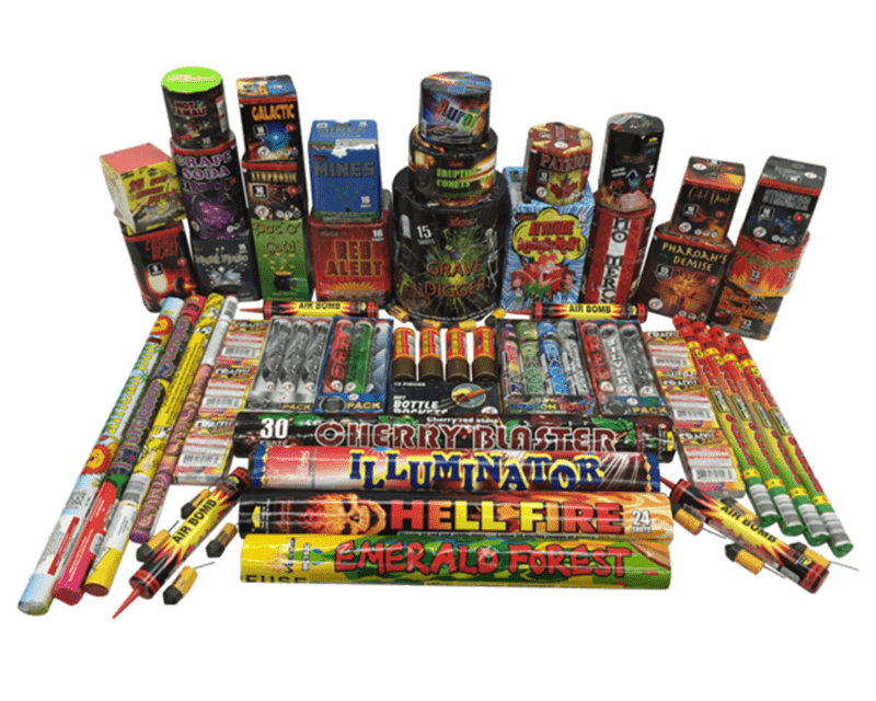 Mystical Fireworks Assortments Bunch of Bangs Assortment