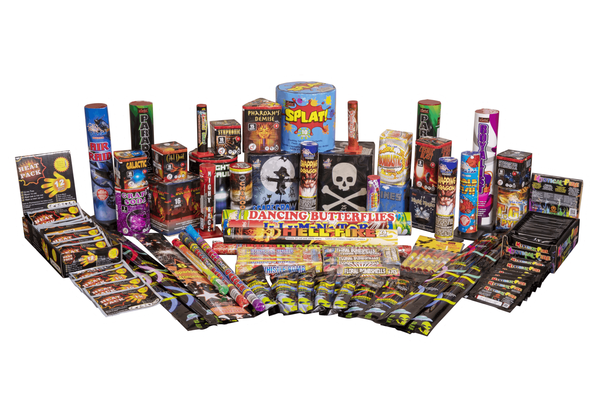 Fireworks Central Assortments Family (1-5 People) Camping Pack Family Pack