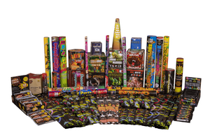 Fireworks Central Assortments Camping Pack Party Pack