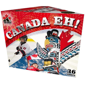 True North Fireworks Cakes Canada Eh