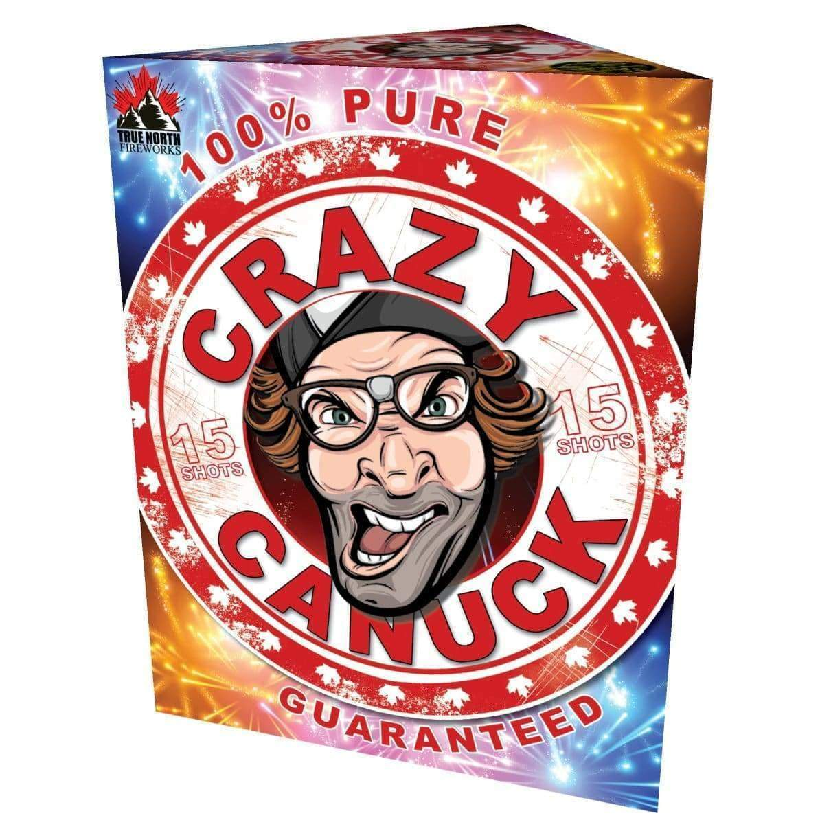 True North Fireworks Cakes Crazy Canuck