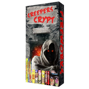Vulcan Fireworks Family Pack Assortment Creepers Crypt