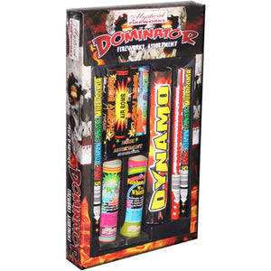 Mystical Fireworks Family Pack Assortment Dominator
