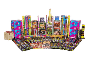 Fireworks Central Assortments Gender Reveal Party Pack