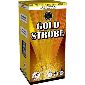 Competition Fireworks Fountains Gold Strobe
