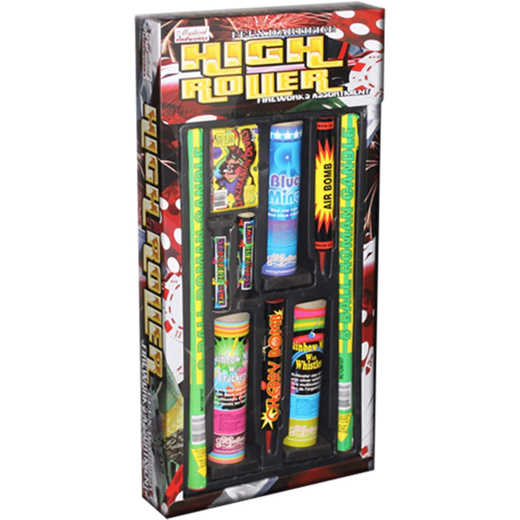 Mystical Fireworks Family Pack Assortment High Roller