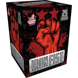Fireworks Central Cakes Iron Fist