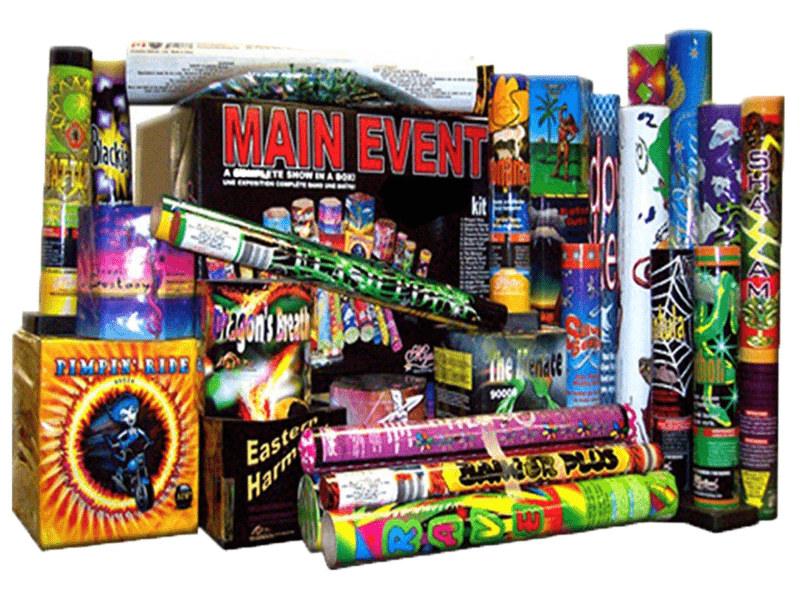 Mystical Fireworks Assortments Main Event