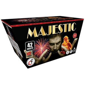 Competition Fireworks Fanned Cakes Majestic