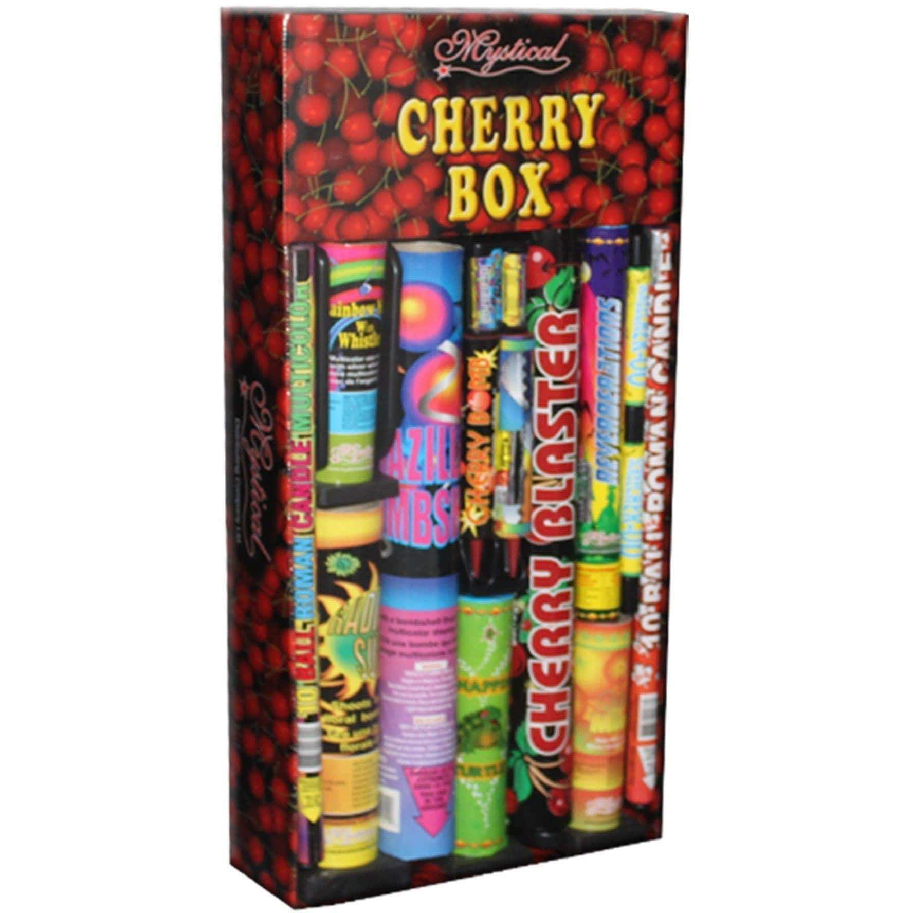 Mystical Fireworks Family Pack Assortment Mystical Cherry Box