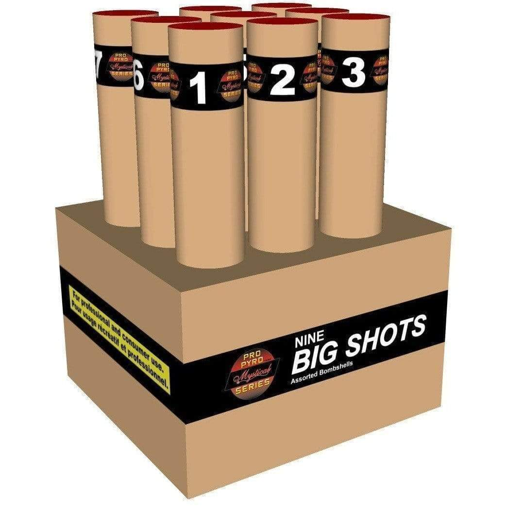 Mystical Pro Pyro Series Cakes Nine Big Shots