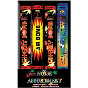 Mystical Fireworks Air bombs Noise Assortment (4pk)