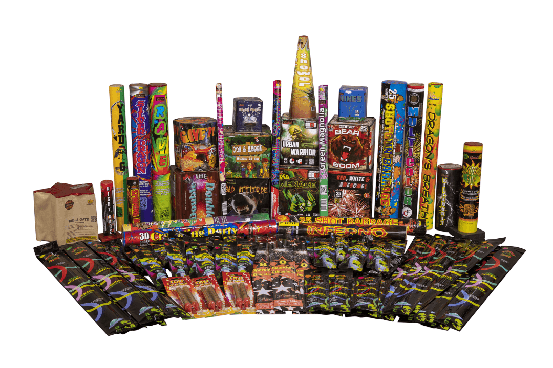 Fireworks Central Assortments Party Size (16-30 People)