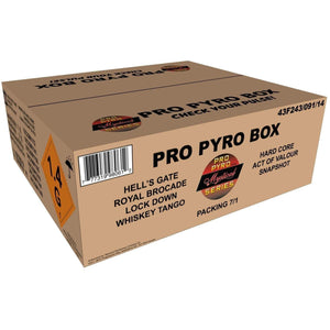 Mystical Pro Pyro Series Family Pack Assortment Pro Pyro Box