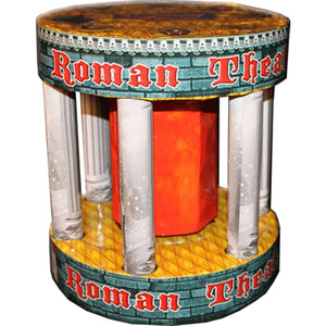 Mystical Fireworks Specialty Shaped Fountain Roman Theatre