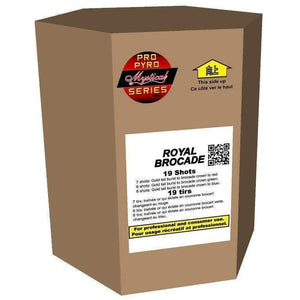Mystical Pro Pyro Series Cakes - Pro Pyro Royal Brocade