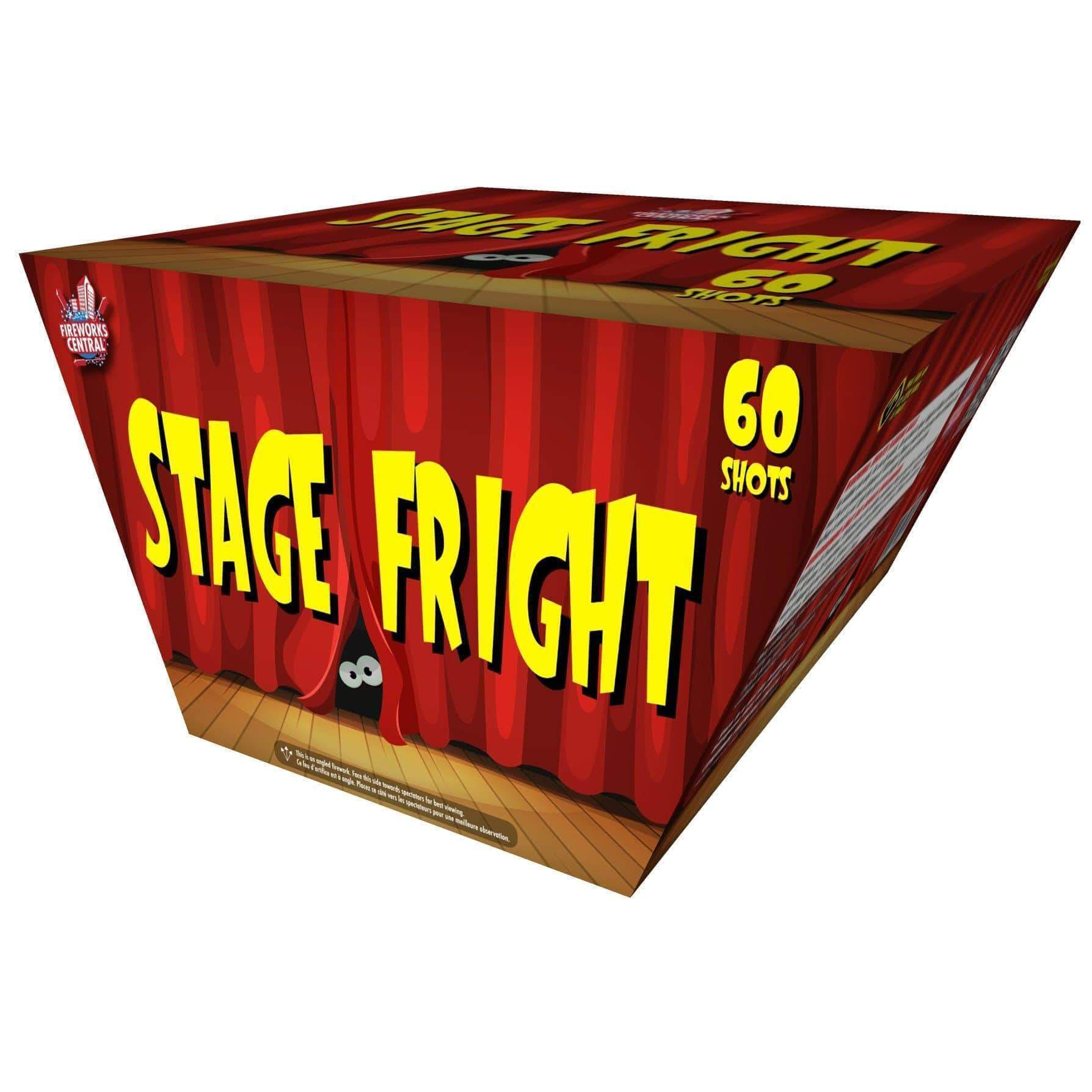 Fireworks Central Fanned Cakes Stage Fright