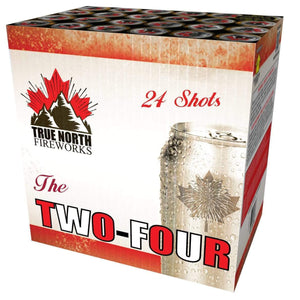 True North Fireworks Cakes The Two-Four