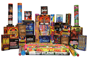 Mystical Fireworks Assortments 1 Assortment Time Square